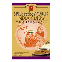 【CANYON SPICE】Spice In The World インド なすとひき肉のカレー 170g