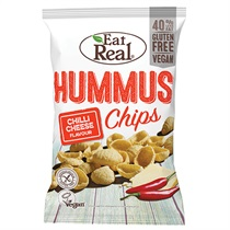 【Eat Real】フムスチップス チリチーズ 45g(Web限定)